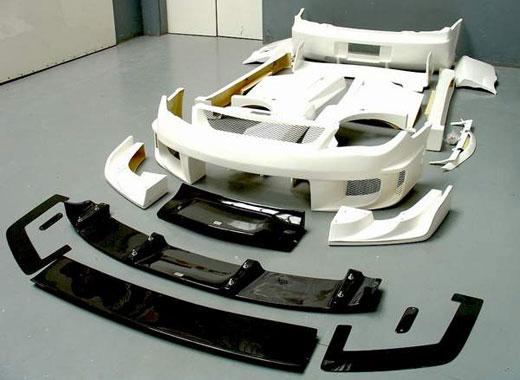 Аэродинамический обвес делается не столько для придания автомобилю боле...