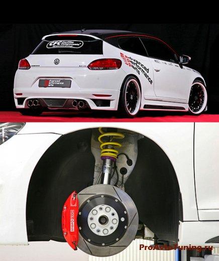 Бюро APP Europe подготовило 261-сильный VW Scirocco