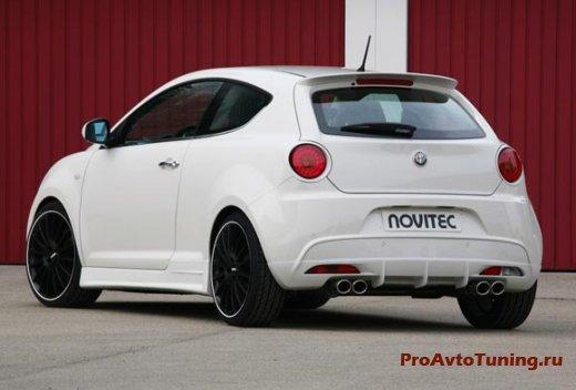 Немцы из Novitec поработали над хэтчбеком Alfa Romeo Mi.To