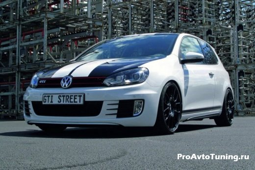 Молодые тюнеры подготовили Volkswagen Golf GTI