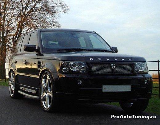 Revere London со своим Range Rover Sport