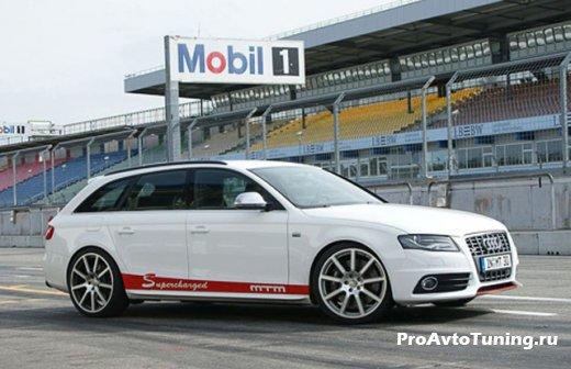 Audi S4 занялись в MTM