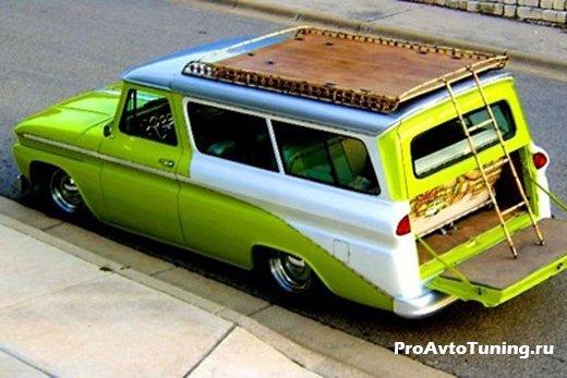 тюнинг Chevrolet Suburban