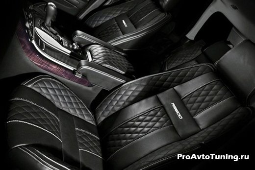 тюнинг Range Rover Sport RS600
