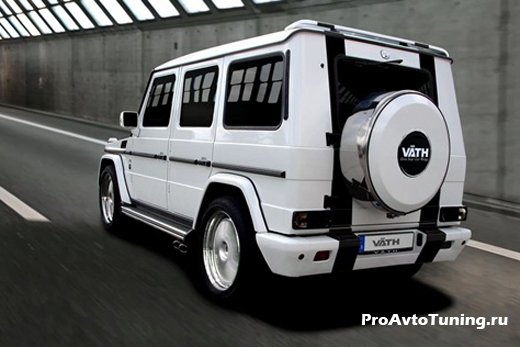 тюнинг Mercedes-Benz G55 AMG