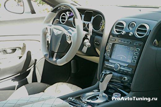 салон Bentley Continental GT Speed