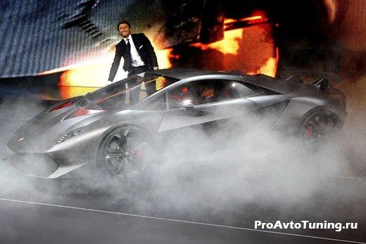 Lamborghini Paris Motor Show 2010