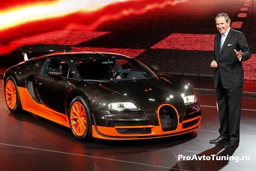 Bugatti Paris Motor Show 2010