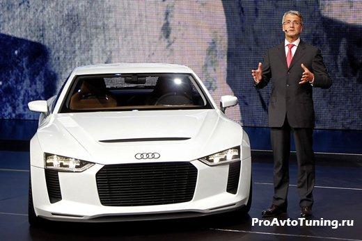 Audi Paris Motor Show 2010
