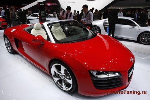Audi R8 4.2 Paris Motor Show 2010