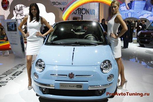 Fiat 500 Paris Motor Show 2010