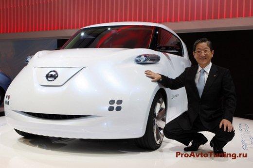 Nissan Paris Motor Show 2010