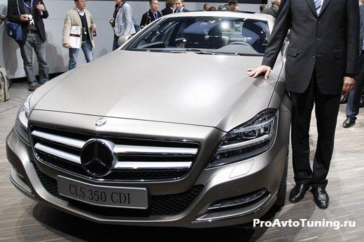 Mercedes CLS 350 CDI Paris Motor Show 2010