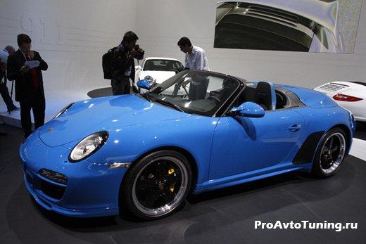 Porsche 911 Paris Motor Show 2010