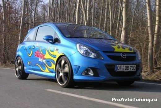 DBilas Dynamics Opel Corsa OPC