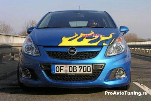 тюнинг Opel Corsa OPC