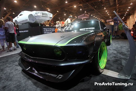Mustang rtr x 1969 team need for speed тюнинг mustang sema