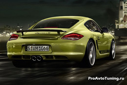 модель Porsche Cayman R