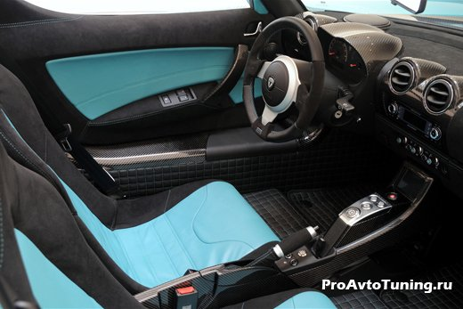 тюнинг Tesla Roadster