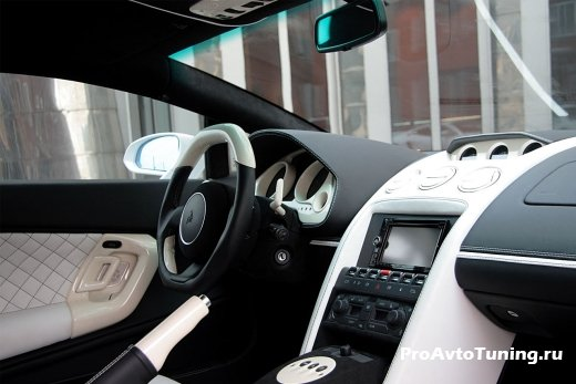 салон Lamborghini Gallardo LP560-4