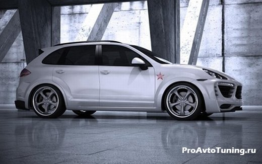 проект Porsche Cayenne Turbo