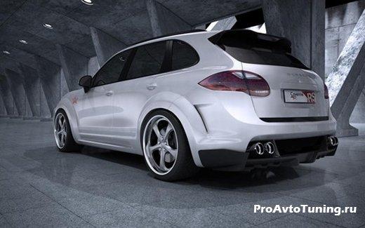 российский тюнинг Porsche Cayenne Turbo