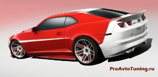 тюнинг Chevrolet Camaro SS
