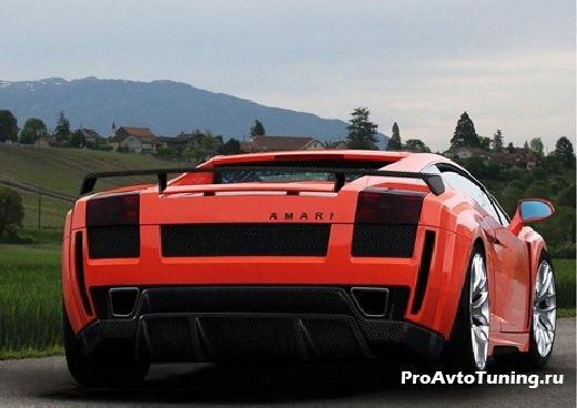 тюнинг Lamborghini Gallardo LP560-4