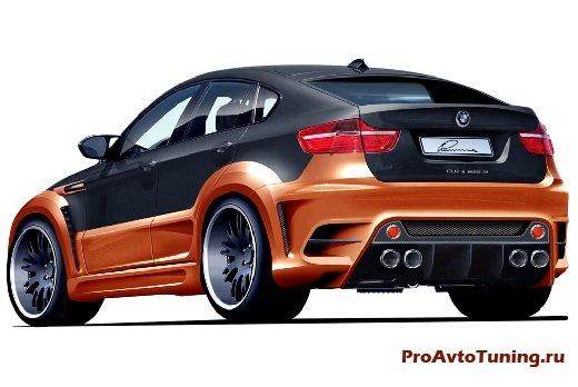 BMW X6 Lumma CLR X 650