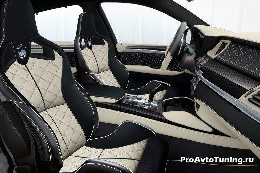 яркий тюнинг BMW X6