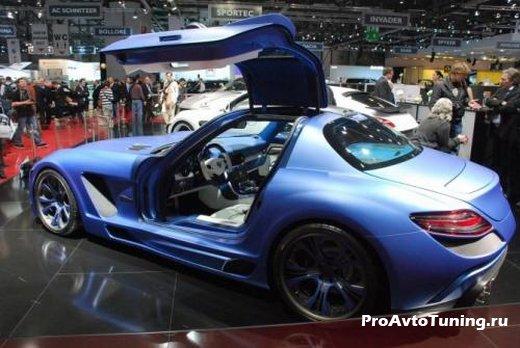 Mercedes SLS AMG Gullstream