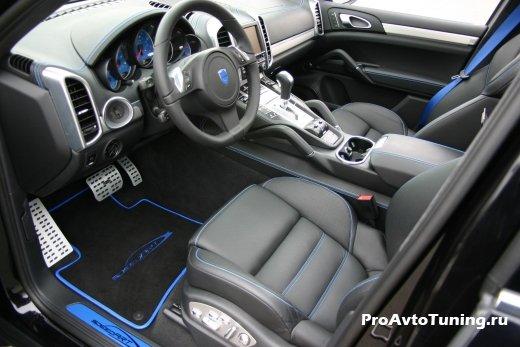 интерьер Porsche Cayenne Titan EVO XL 600