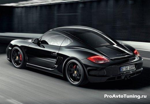 новый Porsche Cayman S Black Special Edition