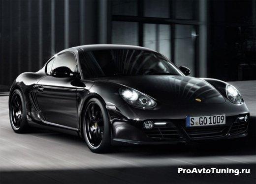 Porsche Cayman S Black Special Edition
