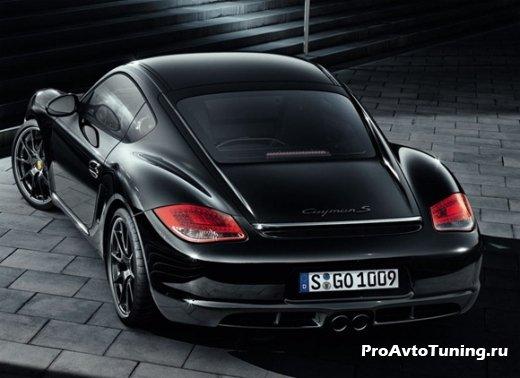 новинка Porsche Cayman S Black Special Edition