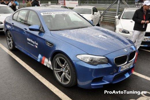 BMW M5 Nurburgring taxi
