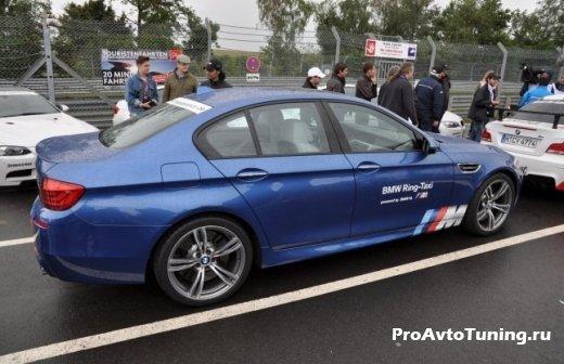 BMW M5 на трассе Нюрбургринг
