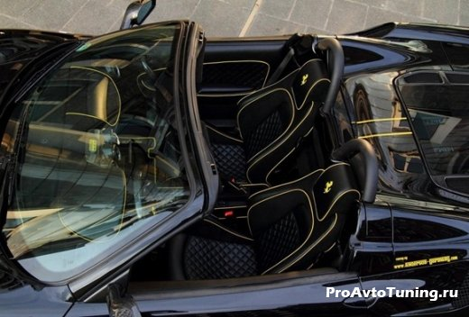 салон Ferrari F430 Spider