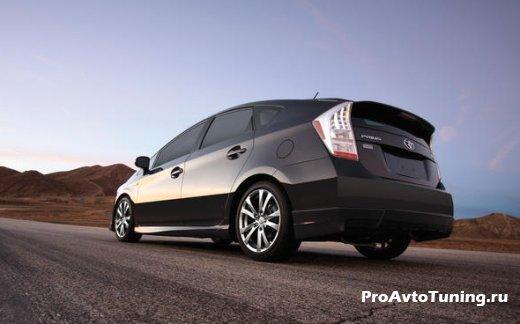 тюнинг TRD Toyota Prius Plus