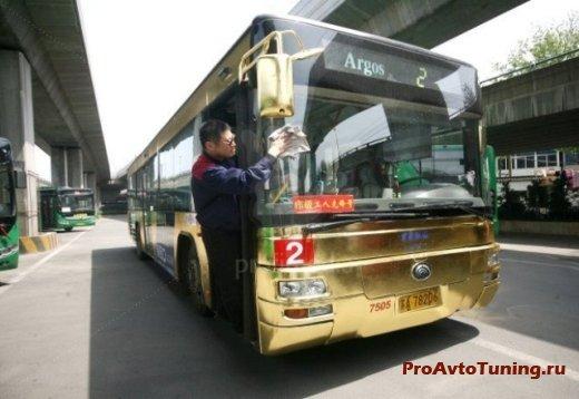 ювелирный тюнинг автобуса