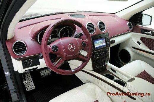 салон Mercedes GL 450 CDI