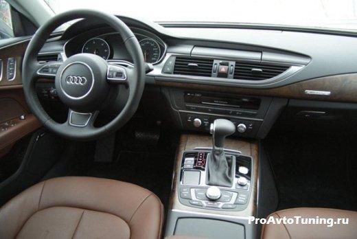 салон Audi A7 3.0 TDI