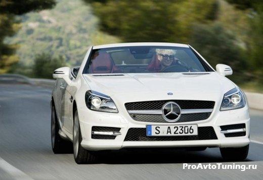 новый Mercedes 2012 SLK 250 CDI