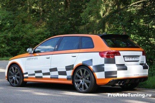мощная Audi RS3