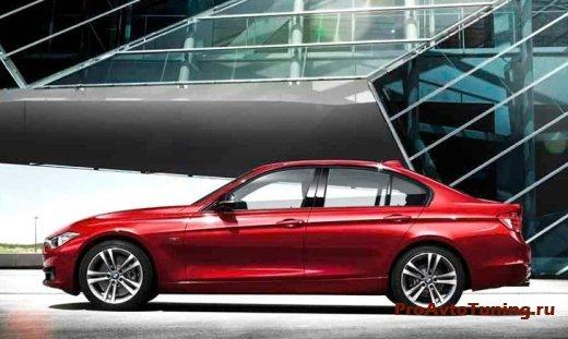 модель BMW 3-Series 2012