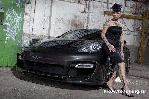 Porsche Panamera S Hellboy