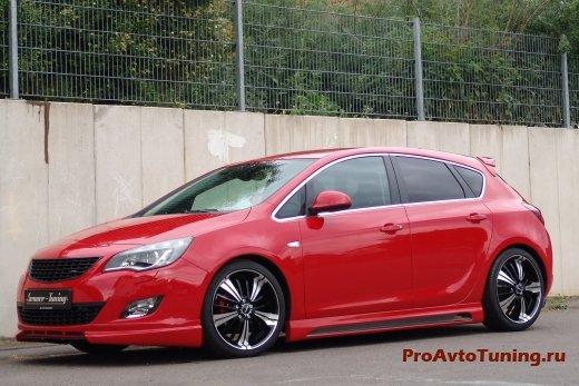 тюнинг Opel Astra 1.4 Turbo