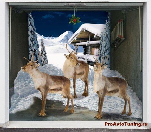 гаражный тюнинг к Рождеству