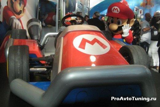 реплика автомобиля Mario Kart