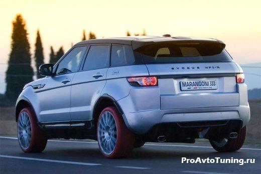 экологичный кроссовер Range Rover Evoque